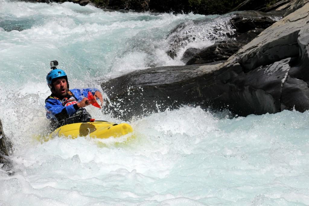 Río Ara alcorce rafting y kayak