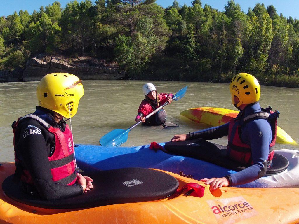 cursos de kayak en Huesca