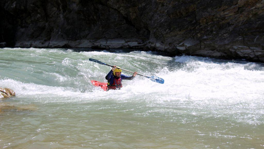 Cursos de kayak en Pirineos