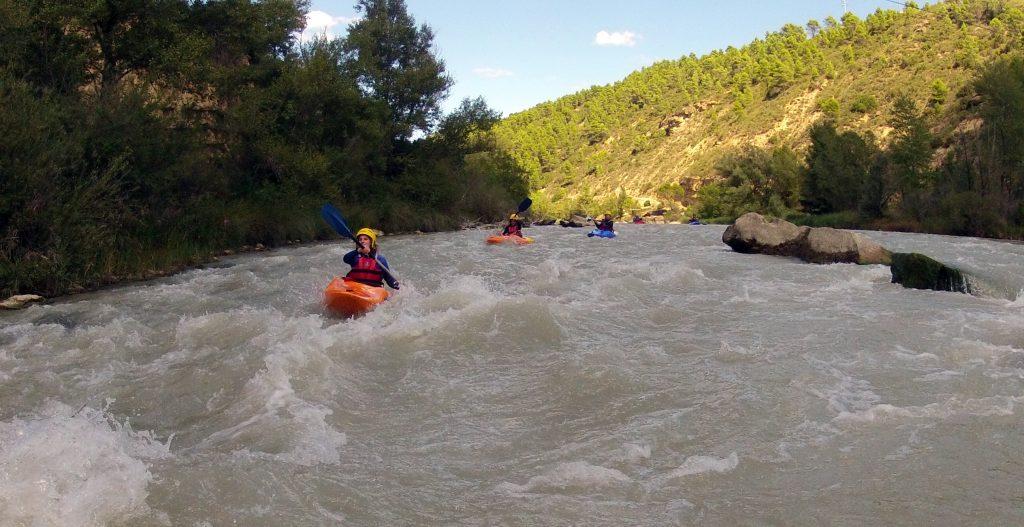 Cursos de kayak en Murillo de Gallego