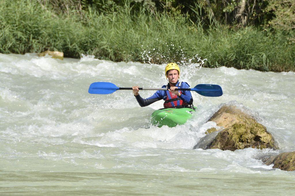 Cursos de kayak en Murillo de Gállego.