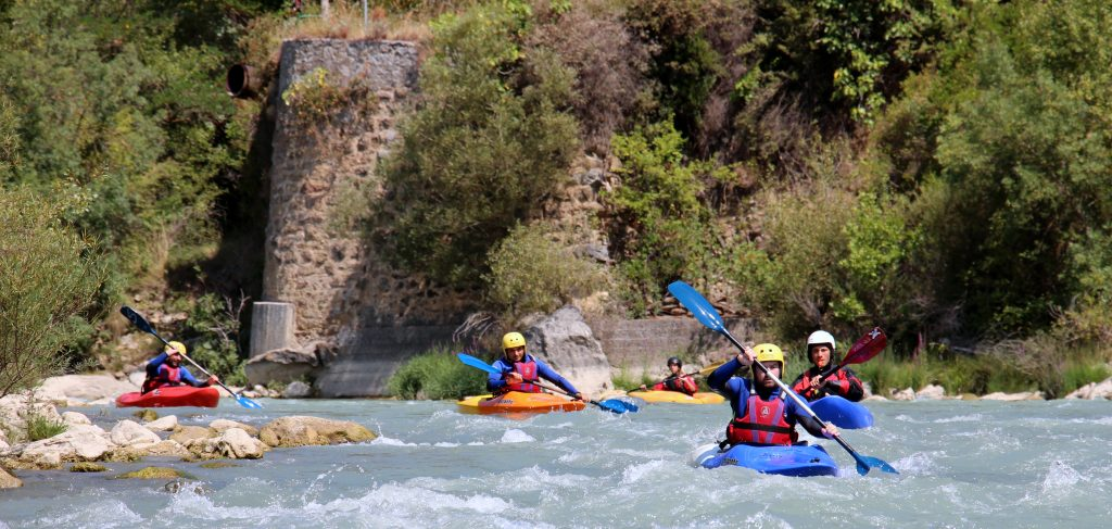 mejores cursos de kayak