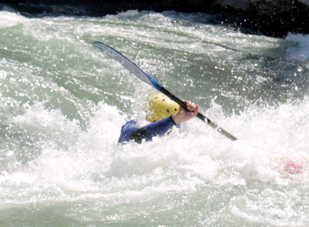 Curso de kayak iniciación y perfeccionamiento.