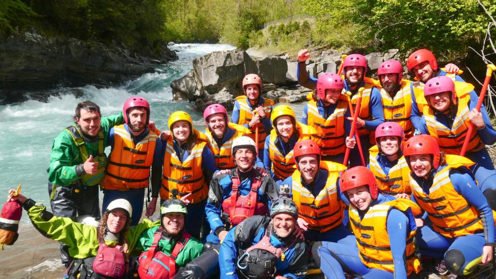 rafting río Ara