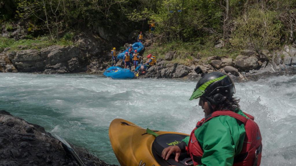 rafting en el Ara