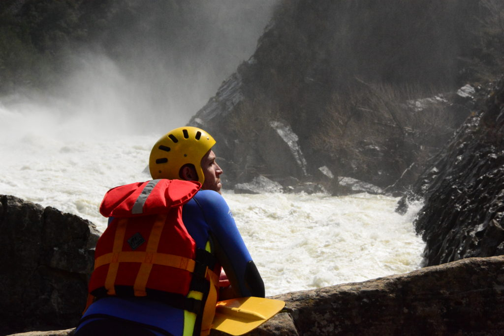 Rafting y kayak en el río Gállego