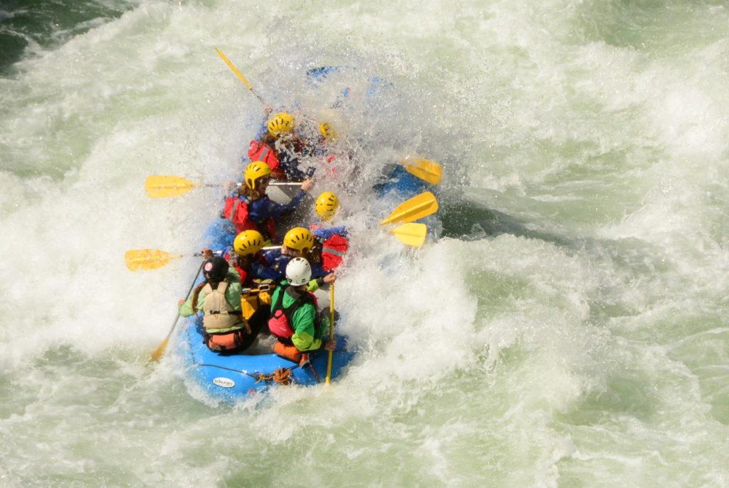 rafting en primavera pirineos