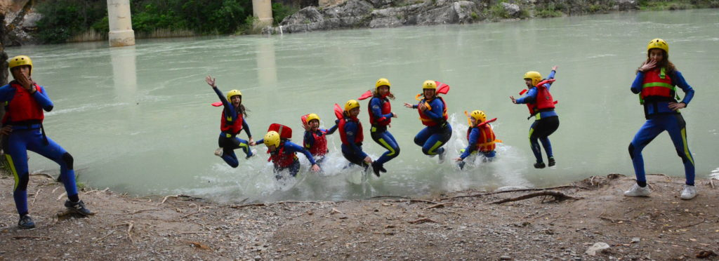 Rafting-despedida