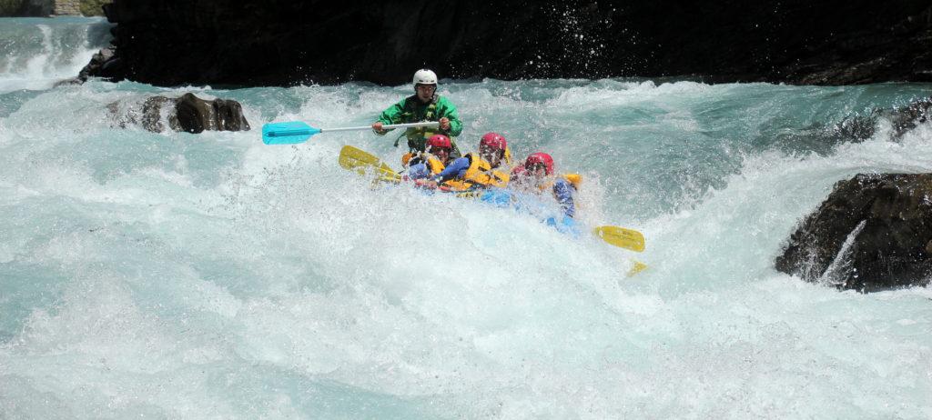 rafting en el río Ara