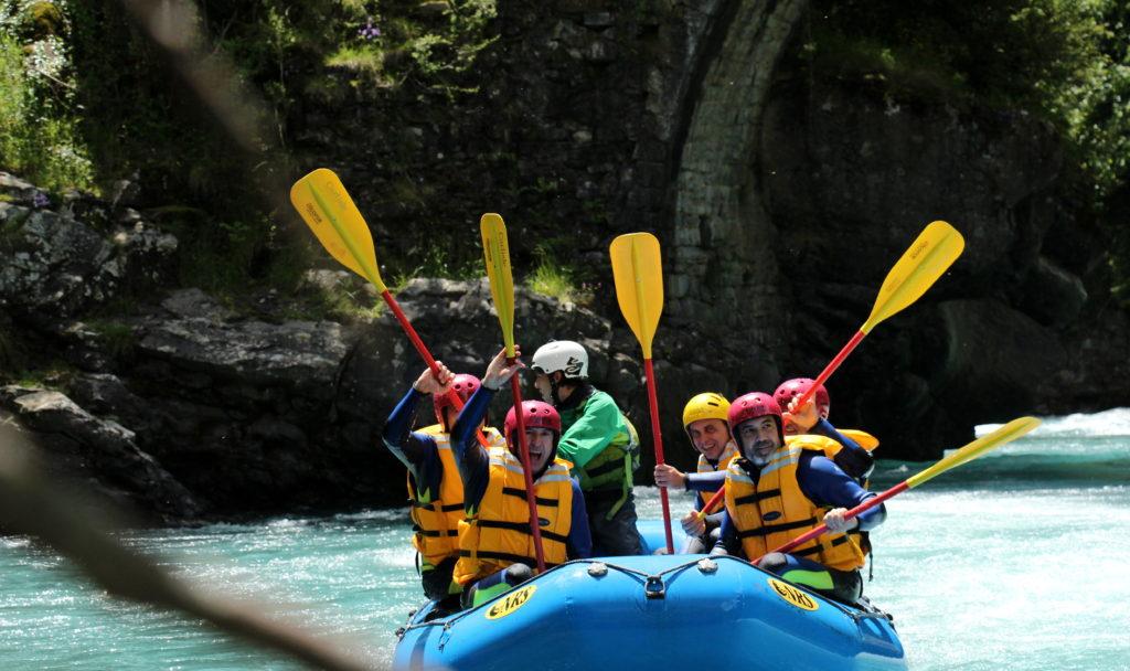 Rafting-torla