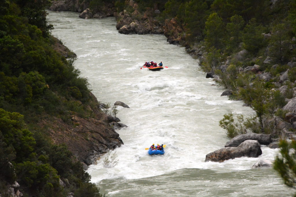 rafting-Pirineos