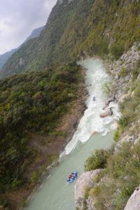 rafting río Gállego