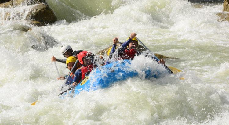 Rafting III (Presa a Murillo de gállego)